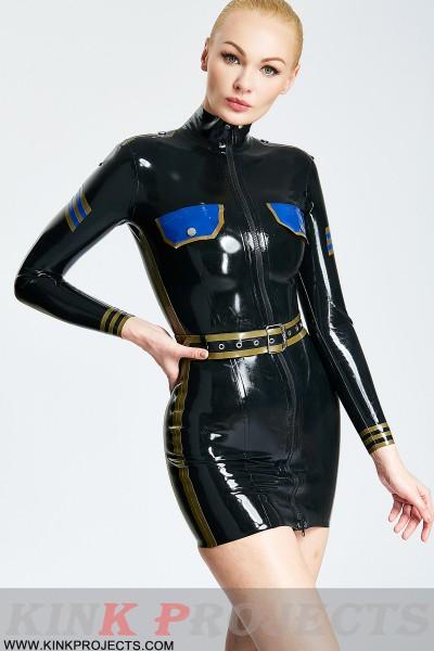 Police Uniform Style Mini Dress