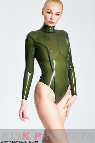 'Legs Eleven' Long-Sleeved Princess Style Leotard