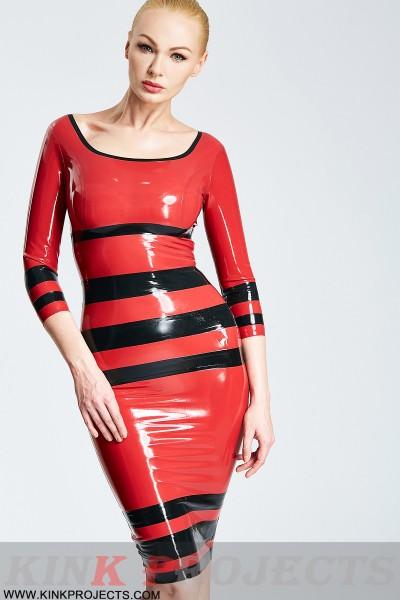 'Horizontale' Boatneck Dress