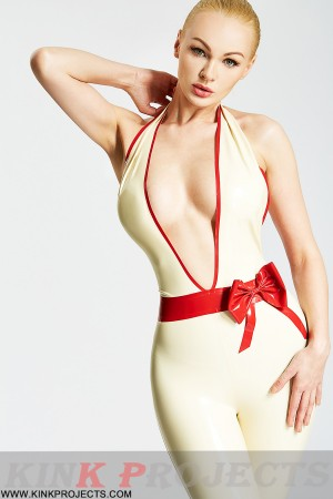 (Stock Clearance) Deep V Sexy Pencil Pantsuit