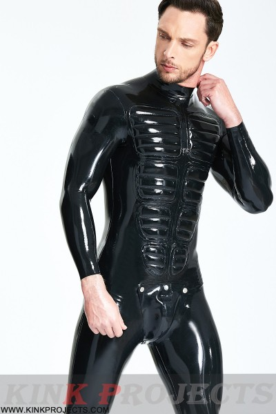Male 'Muscle Chest' Codpiece Catsuit