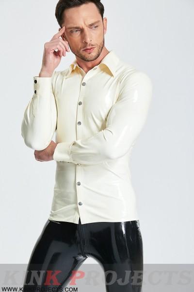 Male Long-Sleeved 'Semi-Formal' Shirt