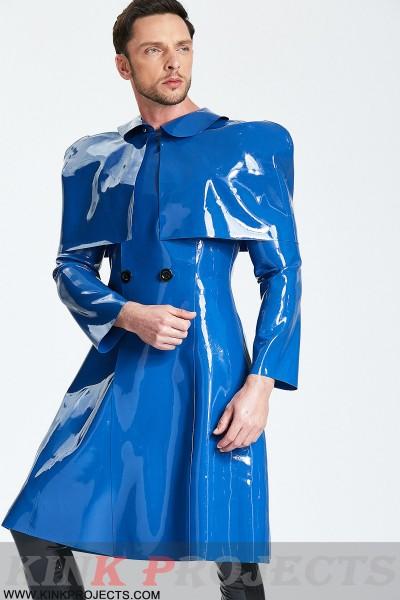 Male 'Sherlock' Half-Caped Raincoat
