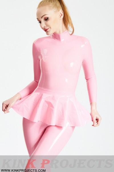 Ruffled Skirt Catsuit