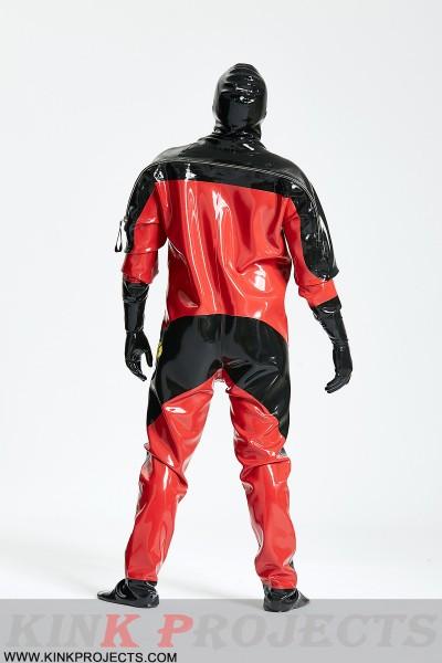 Male Heavy Duty Latex Viking Drysuit