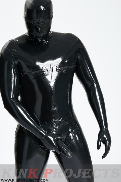 Male 'Hammam' Total Body Catsuit With Sheath
