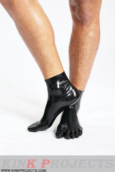 Latex Five Toes Socks