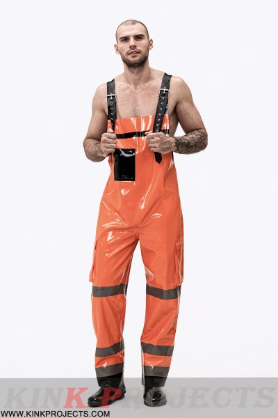 Male Firefighter Off-Duty Dungarees