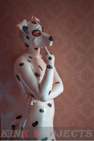 Male 'Dalmatian' Catsuit