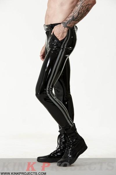 Male 'Cavalry' Striped Jeans