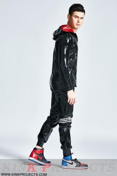 Male Hooded Windbreaker Jacket