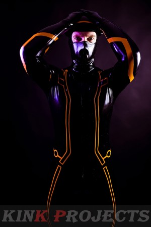 Male 'Legacy' Face-Entry Catsuit