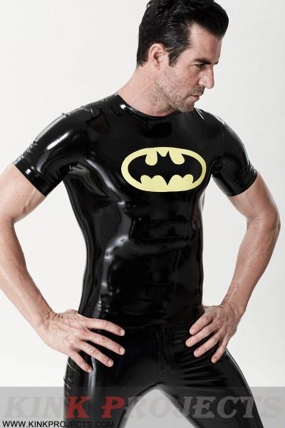 Male 'Flittermouse' Motif T-Shirt