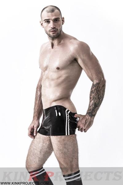 Male Double Stripes Shorts