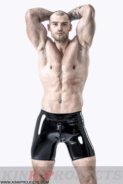 Male Sportsman Style Front-zip Shorts