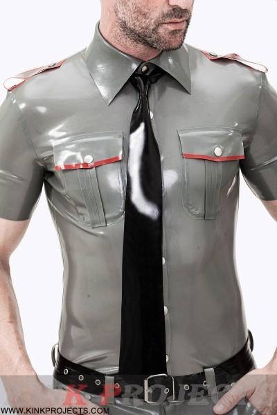 Male Short Sleeves Military Uniform Shirt