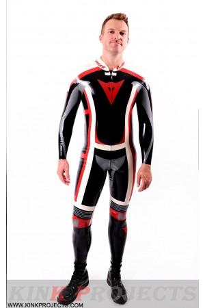 Male Classic Moto Suit