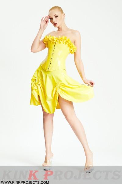 'Curtain Up' Mini Skirt